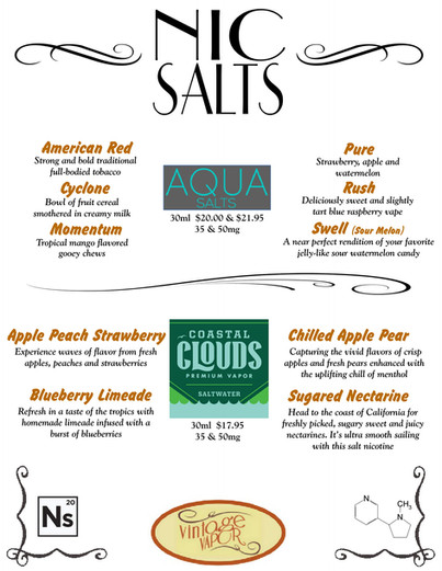 Nic Salts Pg. #1