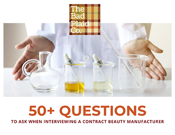 40+ Questions to ask a Contract Manufact