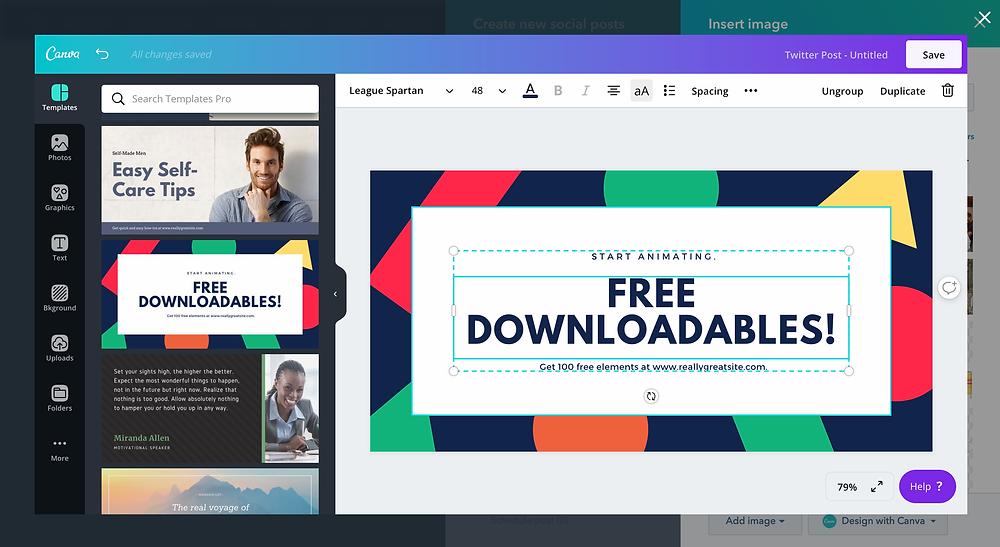 Canva Desktop Publishing App