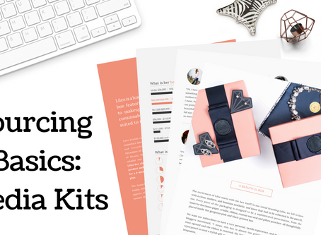Sourcing for Subscription Boxes: Creating a Media Kit