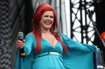 Kate Pierson from the B52's