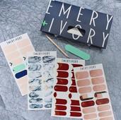 Emery + Ivory Logo