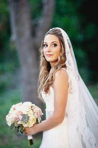 A beautiful fall bride!