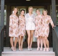 A beautiful bridal party!