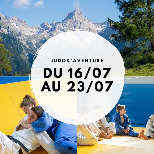 Stage en Savoie du 16 au 23 juillet 2021