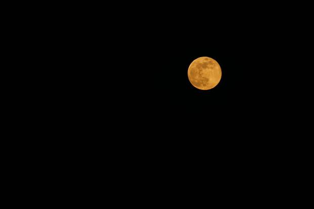 Full Moon in Morocco