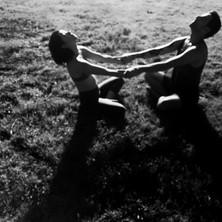 Doubles Yoga Stretch