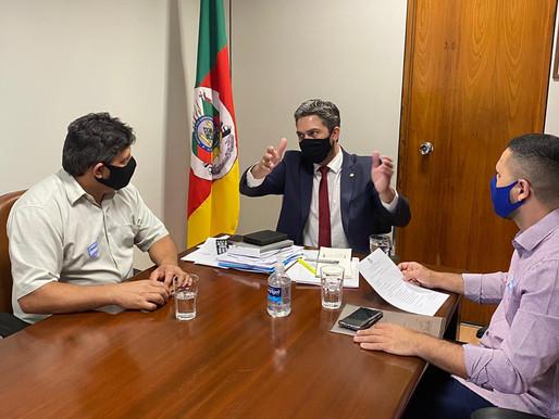 Reuniões em BSB com líderes Gaúchos