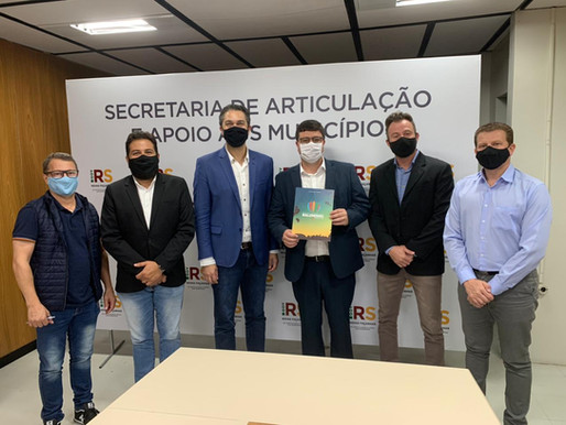 Segundo dia de agendas em Porto Alegre