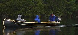 Grand Lake Canoe + Paddle