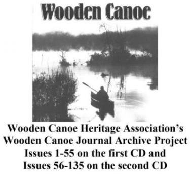 Wooden Canoe Journal Archive on USB Flash Drive