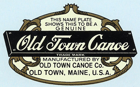 Old Town Deck Decal: 1906-1954