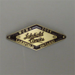 2008 Assembly Pin - Lakefield Canoes