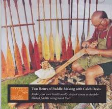 Making Traditionally Shaped Canoe and Greenland Kayak Paddles with Caleb Davis (