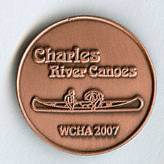 2007 Assembly Pin - Charles River Canoes