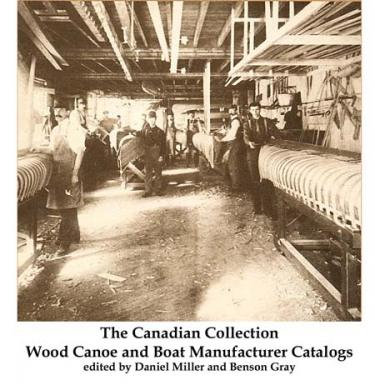 The Canadian Wood Canoe and Boat Company Catalog Collection on USB Drive