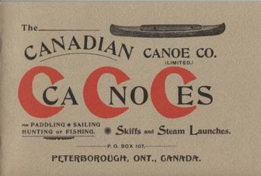 Canadian Canoe Company Catalogue Reprint