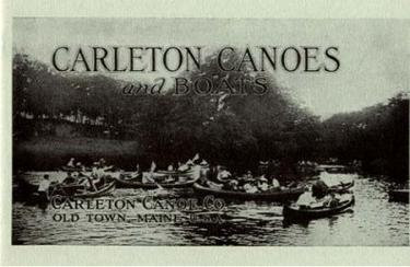 Carleton Canoes and Boats Catalog Reprint