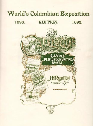 Rushton 1893 Catalog Reprint