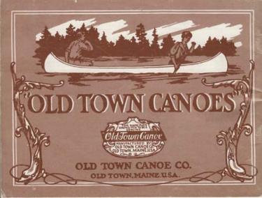 Old Town Canoe Company Catalog Reprint