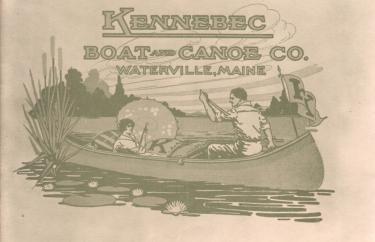 Kennebec Boat and Canoe Company Catalog Reprint