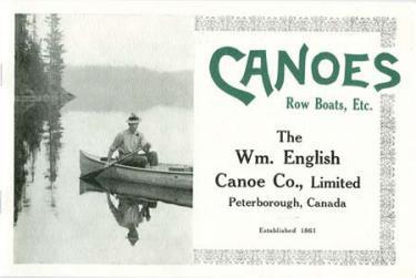 Wm. English Canoe Company Catalog Reprint