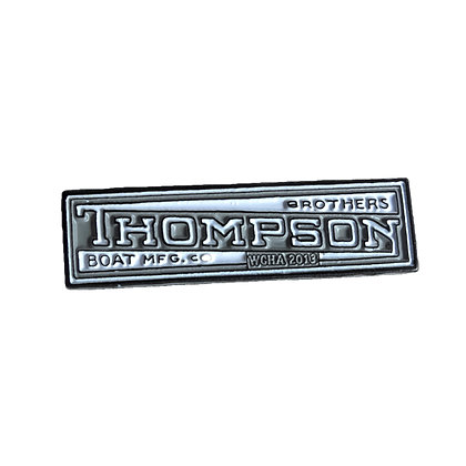 2013 Assembly Pin - Thompson Bros. Canoes