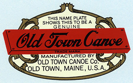 Old Town Deck Decal: 1956-1978
