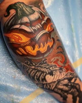 🎃 in progress 🎃_The fury of the pumpki