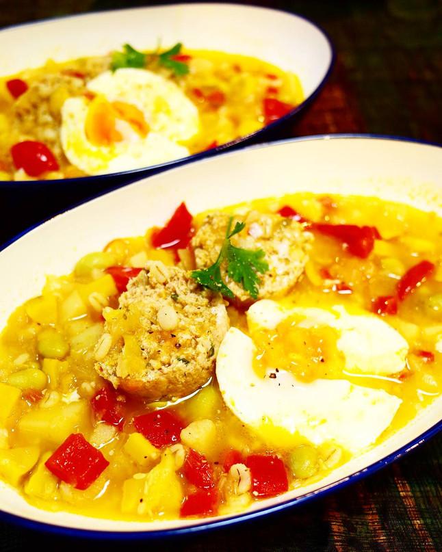 【EAT×ART】夏の温野菜スープ
