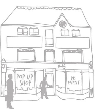 Find and rent a pop up shop