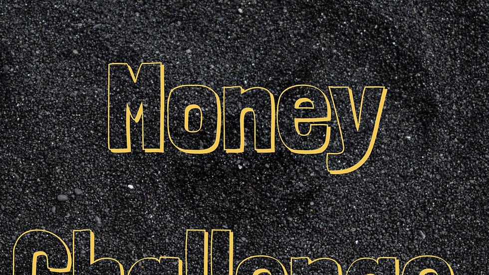 12 Month Money Challenge Color Sheet
