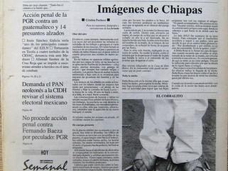 """FOTOPERIODISMO MEXICANO: PORTADAS Y CONTRAPORTADAS DEL DIARIO """"LA JORNADA"""", UNA FORMA DE H"""