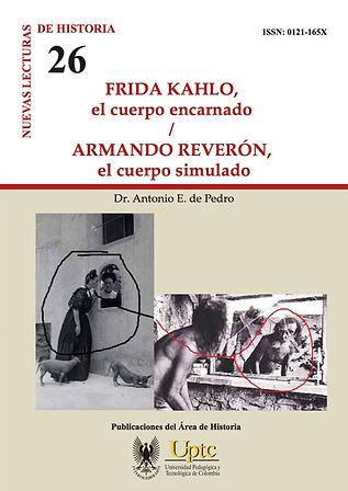 portada de libro, Frida Kahlo, Armando Reverón, fotografías