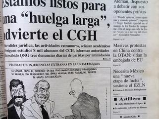 HUELGA ESTUDIANTIL DE 1999-2000 EN LA UNAM. REGISTRO VISUAL, PESQUISA PARA RECONSTRUIR LA HISTORIA
