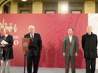 PRIMERA CONFERENCIA DE PRENSA CON LA FUENTE DE PRESIDENCIA EN MÉXICO