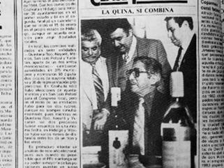 LA QUINA, SÍ COMBINA. ECO VISUAL DE UN LÍDER PETROLERO EN LA DÉCADA DE LOS 80