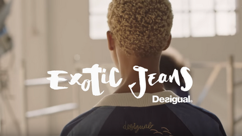 Desigual - Exotic Jeans SS17 advertising campaign video