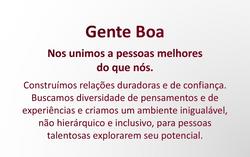 GENTE BOA