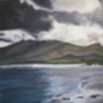 Always Water II, 4x4', oil on canvas, 20