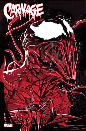 Carnage: Black, White, and Blood #1 (Of 4) Main Cover
