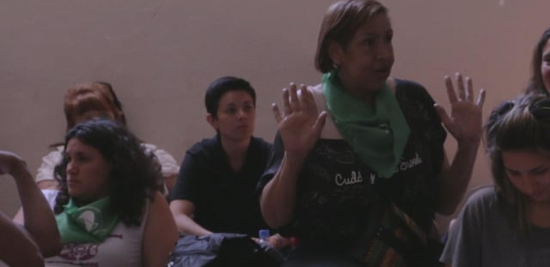 Lohana Berkins en el Encuentro de Mujeres de Salta 2014