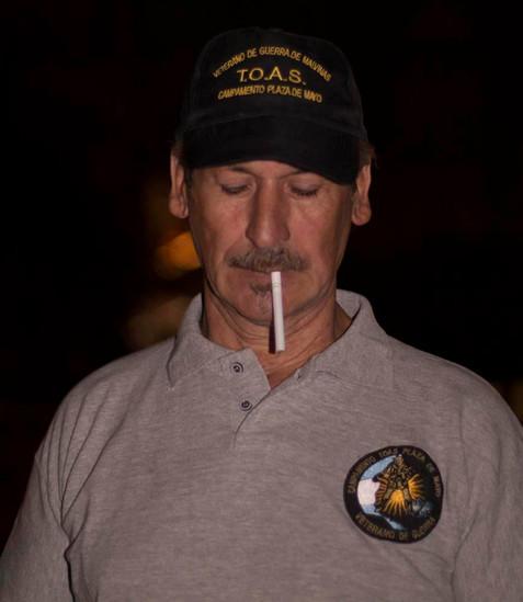 Luis Giannini Ex combatiente de Malvinas