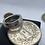 Thumbnail: Piece 100 francs Argent pantheon 3 diamants 2 saphirs 1 rubis