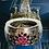 Thumbnail: Bague Napoléon III Argent saphirs et rubis