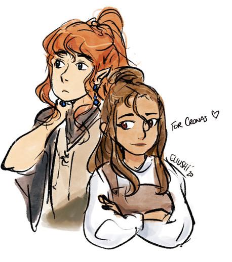 Aniya and Izrekiel