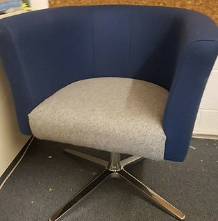 Office swivel and waiting chair. Only one left.  Ring for viewing