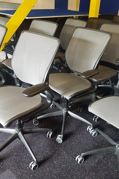 Humanscale all Mesh Swivel Chairs .Diffrient World Model