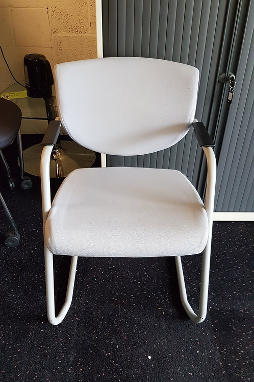 Light Grey Office Reception Chair By Pledge
