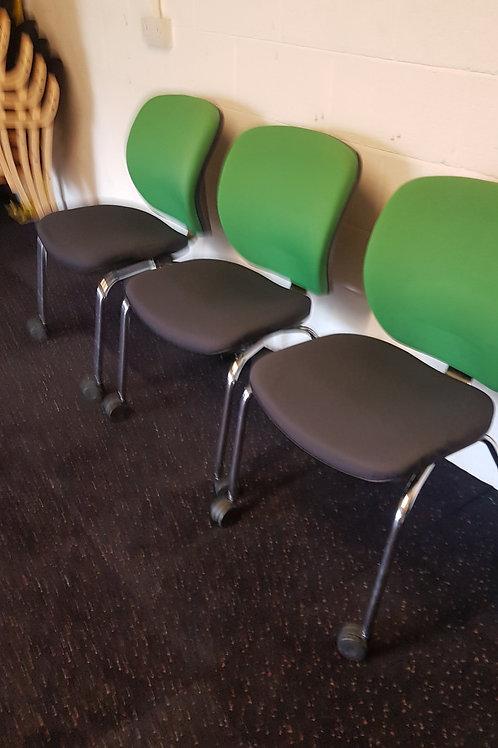 Orangebox  Green Meeting Room Chairs